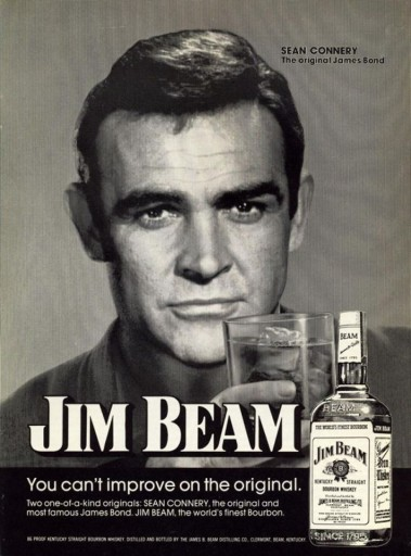 Blog Image for Throwback Thursday Jim Beam and Sean Connery Ageless