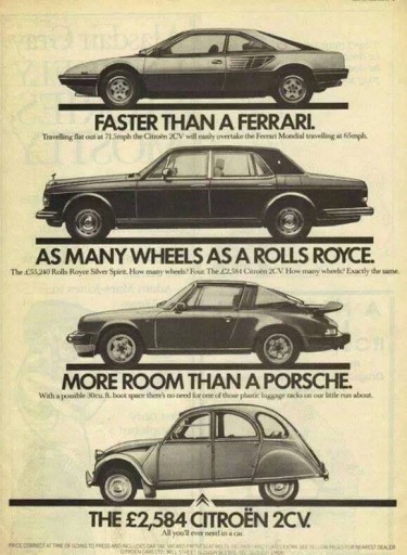 Blog Image for Throwback Thursday Citroen's Truth in Advertising