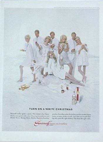 Blog Image for Throwback Thursday Smirnoff Ad White Christmas