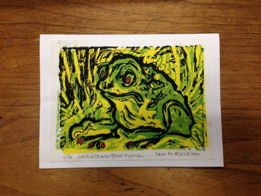 Blog Image for Art Tuesday Tree Frog and Kissing Princes