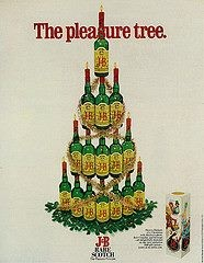 Blog Image for Throwback Thursday J&B Bottle Tree