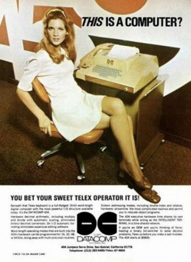 Blog Image for Throwback Thursday Women and Computers