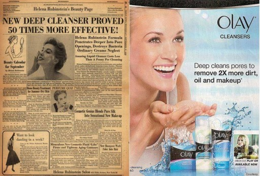 Blog Image for Throwback Thursday Beauty Ads
