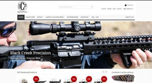Blog Image for New Website Launch Black Creek Precision