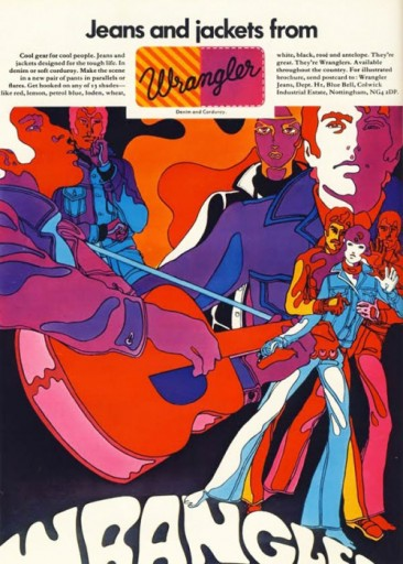 Blog Image for Throwback Thursday - Wrangler Goes Psychedelic