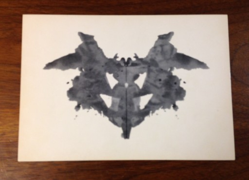 Blog Image for The Impact of Visual Imagery - Rorschach Plate I