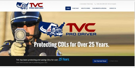 Blog Image for New Website Launch - TVCProDrivers