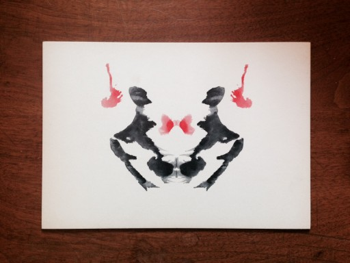 Blog Image for The Power of Imagery  - Rorschach Plate III