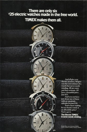 Blog Image for Throwback Thursday Timex