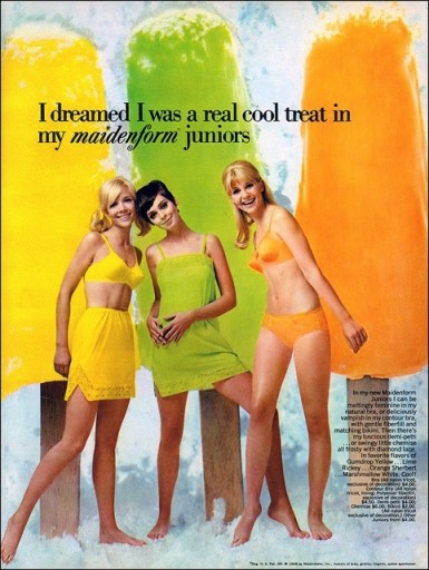 Blog Image for Throwback Thursday Maidenform Popsicles