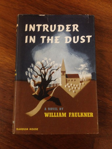 Blog Image for Throwback Thursday Faulkner Book Jacket