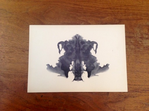 Blog Image for The Power of Images - Rorschach Plate IV