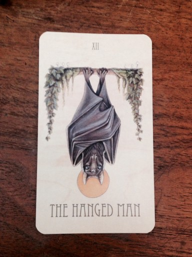 Blog Image for Art Tuesday Hanged Man Bat