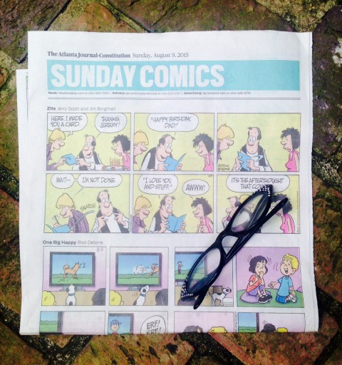 Blog Image for Sentimental Sunday  - Sunday Comics and Silly Putty