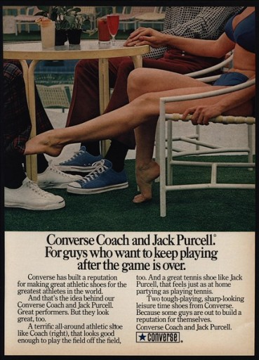 Blog Image for Throwback Thursday Converse Shoes