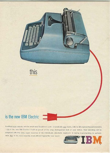 Blog Image for Throwback Thursday IBM Electric