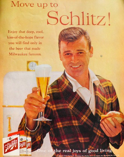 Blog Image for Throwback Thursday  - Ham and Cheese and Schlitz