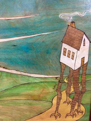 Blog Image for Art Tuesday - Walking House by Lee Laney
