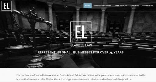 Blog Image for New Website Launch Elarbee Law