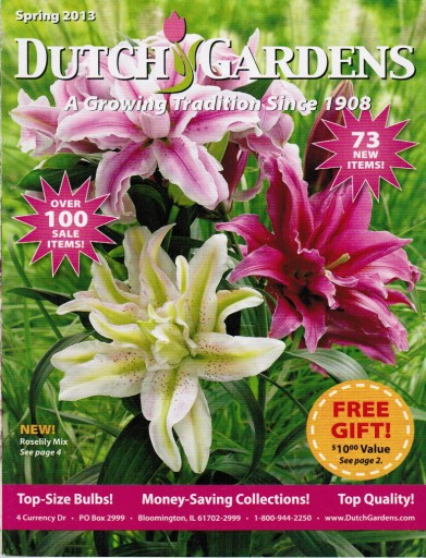Media Scan for Dutch Gardens Package Insert Program