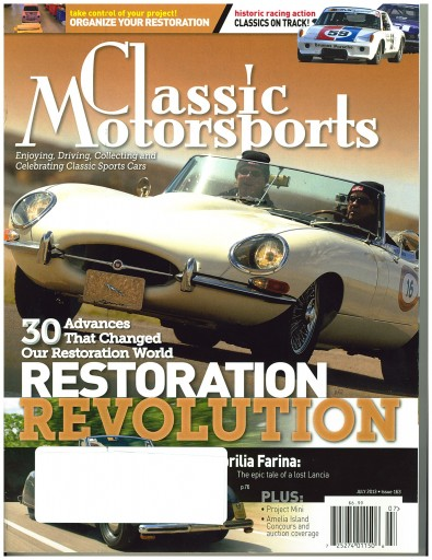 Media Scan for Classic Motorsports