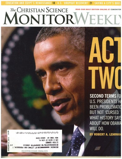 Media Scan for Christian Science Monitor