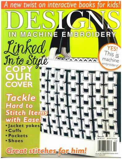 Media Scan for Designs in Machine Embroidery