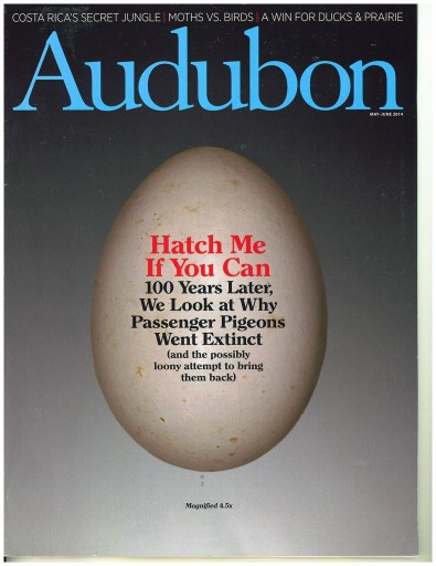Media Scan for Audubon Magazine