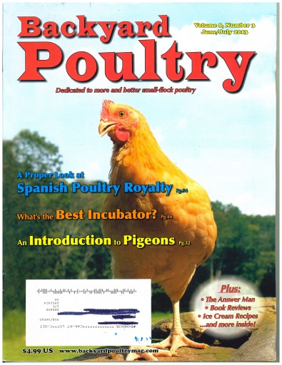 Media Scan for Backyard Poultry