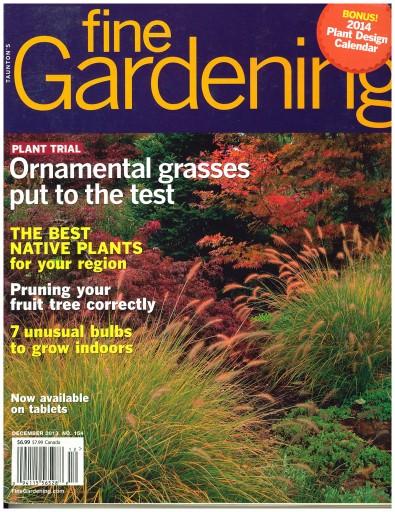 Media Scan for Fine Gardening