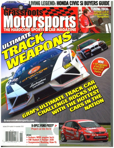 Media Scan for Grassroots Motorsports