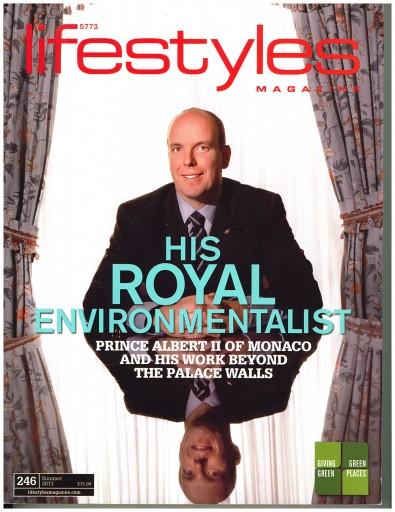 Media Scan for Lifestyles Magazine