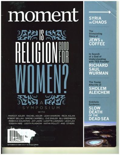 Media Scan for Moment Magazine