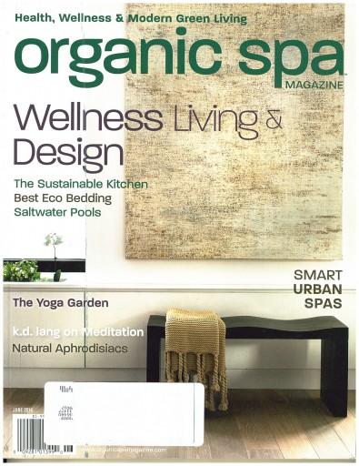 Media Scan for Organic Spa Magazine