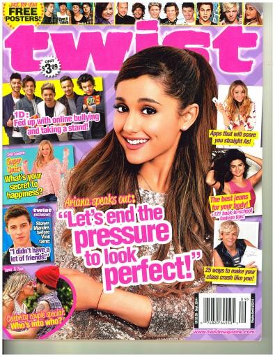 Media Scan for Twist Magazine