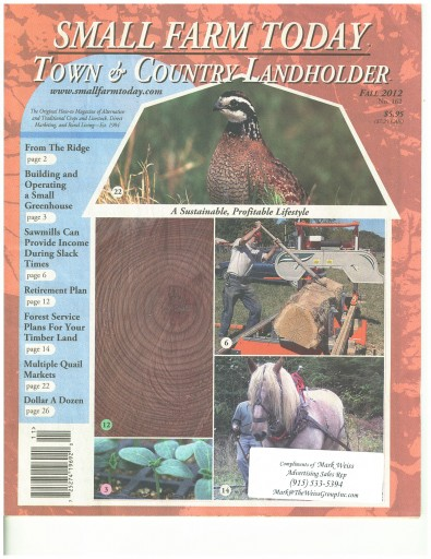 Media Scan for Small Farm Today