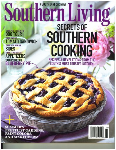 Media Scan for Southern Living Magazine