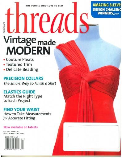 Media Scan for Threads Magazine