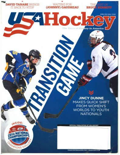 Media Scan for USA Hockey Magazine