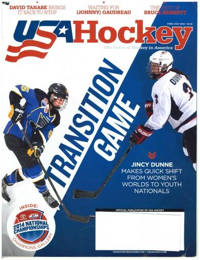 Media Scan for USA Hockey Magazine