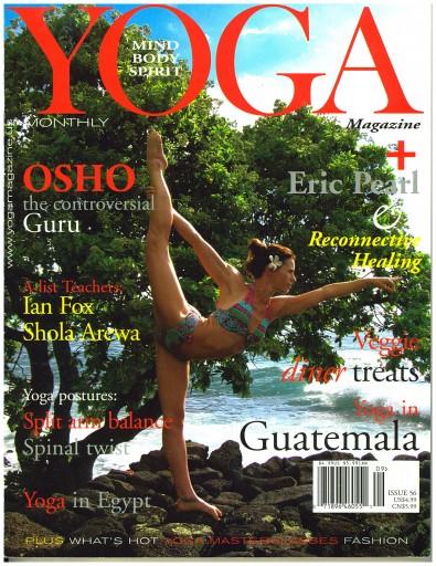 Media Scan for Yoga Magazine