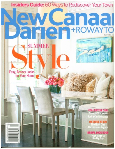 Media Scan for New Canaan-Darien Magazine