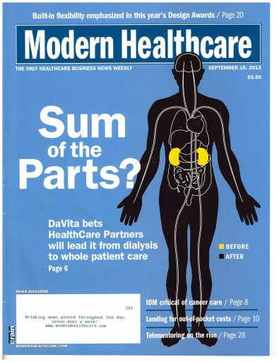 Media Scan for Modern Healthcare