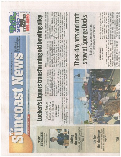 Media Scan for Tampa Suncoast News