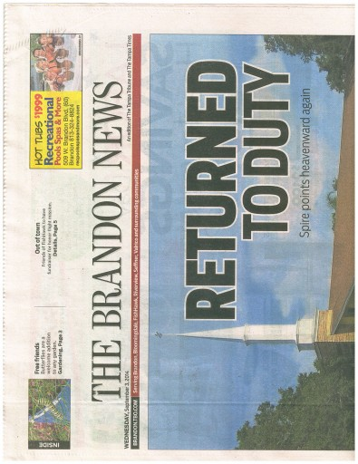 Media Scan for Tampa - Brandon News & Tribune
