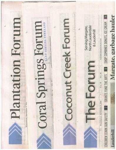 Media Scan for Sun Sentinel Community News