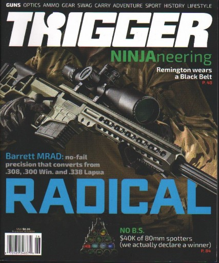 Media Scan for Trigger Magazine