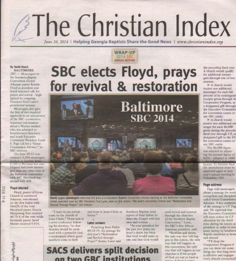 Media Scan for Georgia Christian Index