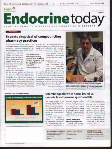 Media Scan for Endocrine Today