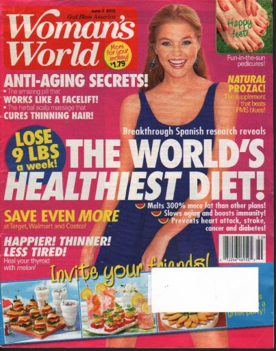 Media Scan for Woman's World Magazine